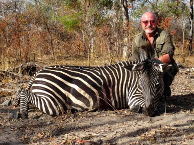 Zebra Hunting in Tanzania with Heritage Safaris